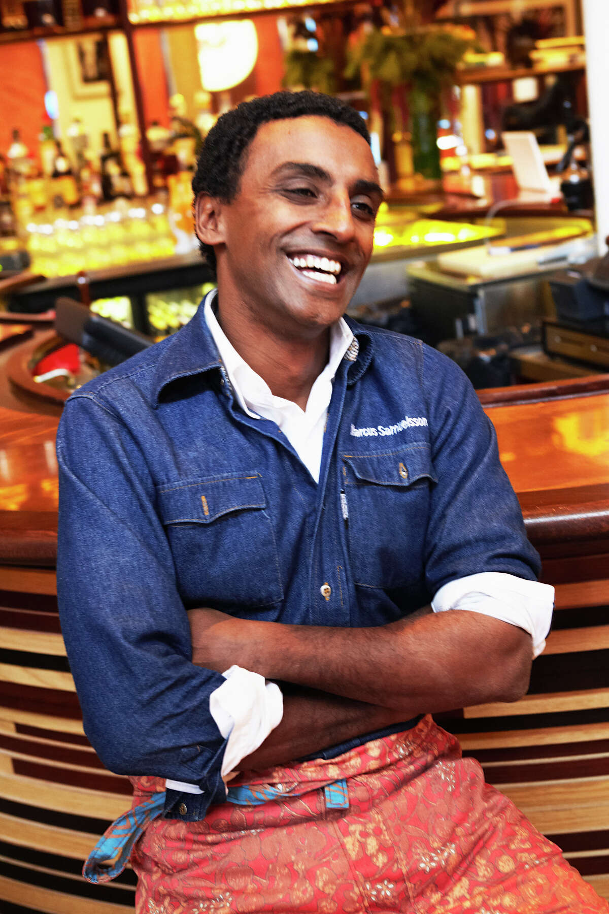 Chef Marcus Samuelsson will sign his new book in Houston on Thursday.