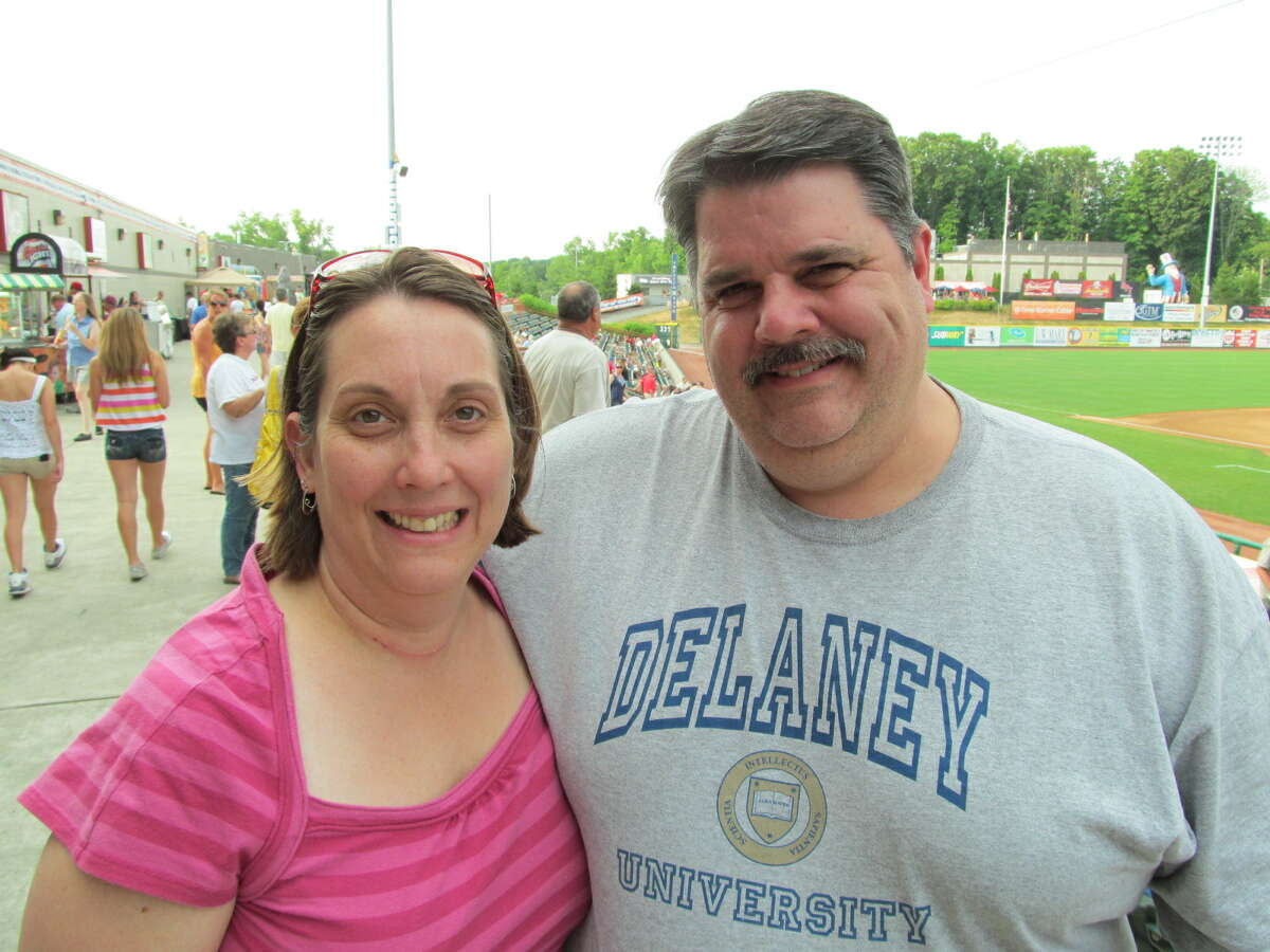 Were you Seen at the Tri-City ValleyCats game on Tuesday, July 17, 2012 at the Joseph L. Bruno Stadium in Troy?