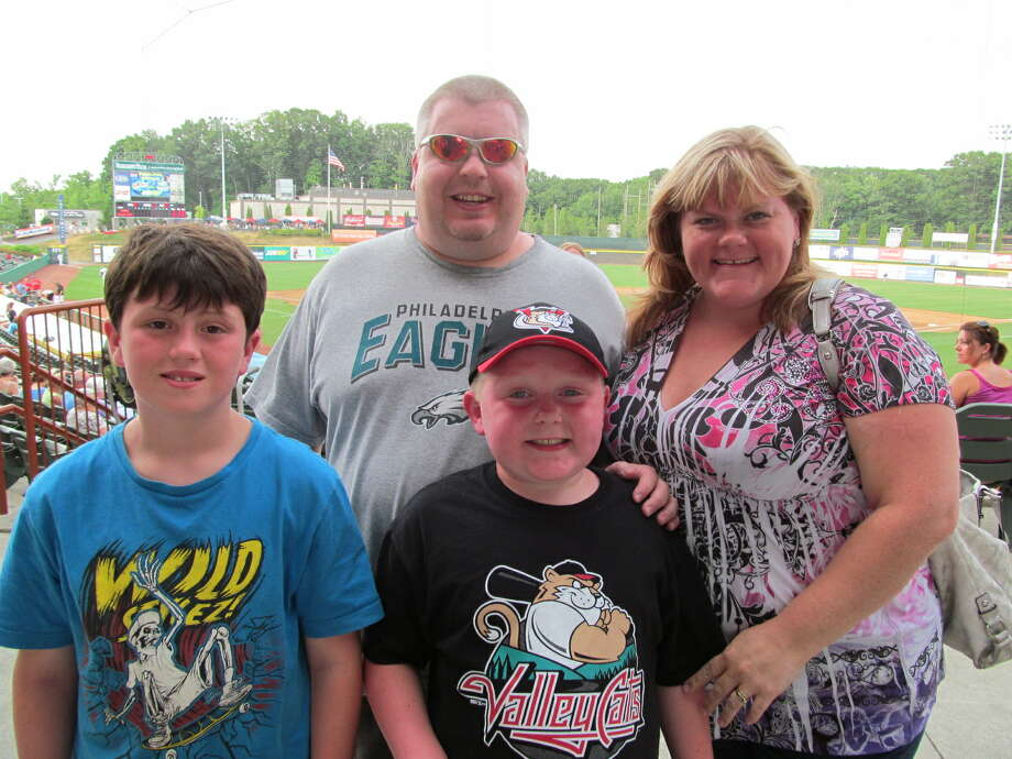 Were you Seen at the Tri-City ValleyCats game on Tuesday, July 17, 2012 at the Joseph L. Bruno Stadium in Troy? Photo: Kristi Gustafson Barlette/Times Union