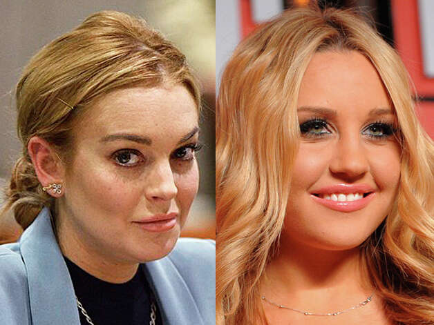 Lindsay Lohan was well, Lindsay Lohan. Looks like Amanda Bynes may give her a run for her money.  See who else made the news infamously this year. Photo: Wire