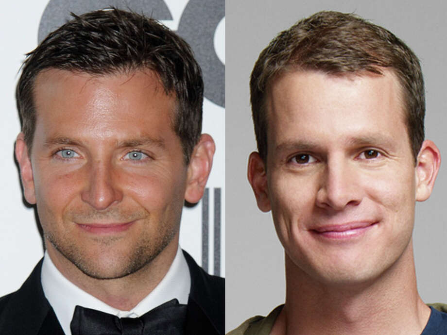 "It's hard to believe People magazine's ""Sexiest Man Alive"" Bradley Cooper and Comedy Central's Daniel Tosh were both born in 1975. Photo: Wire"