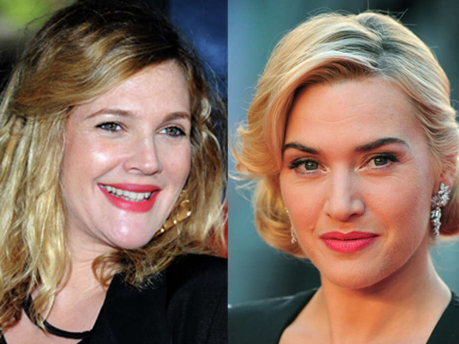 """Big Miracle"" star Drew Barrymore and ""Titanic"" knockout Kate Winslet were both born in 1975. Photo: Wire"