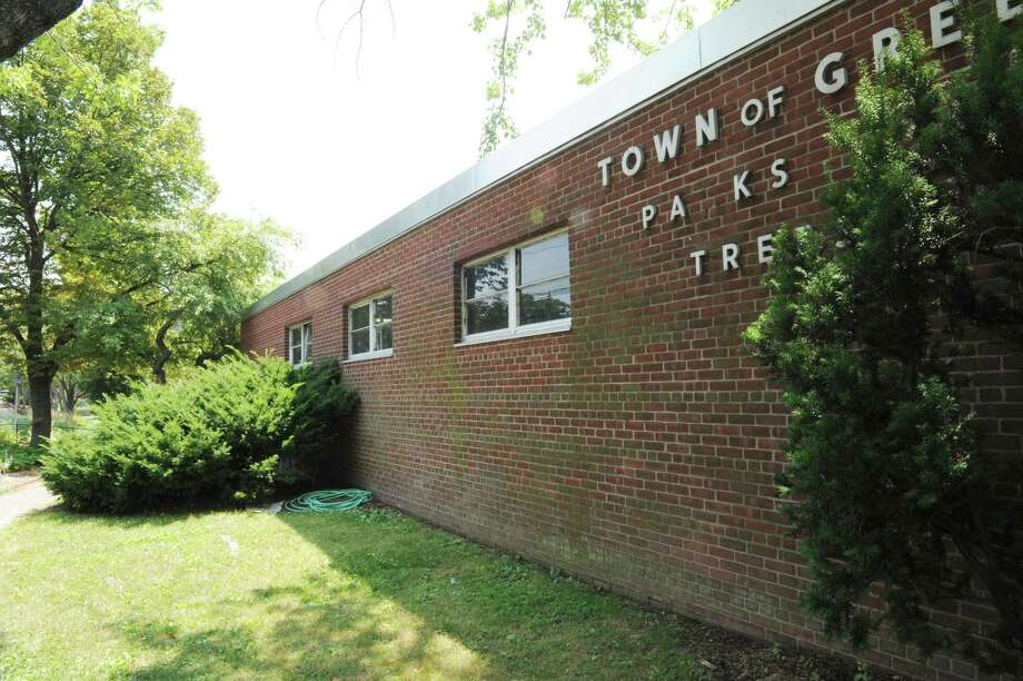 The Town of Greenwich Parks and Trees Division building at 100 S. Arch St on Tuesday, July 17, 2012. The Greenwich Senior Center might be moving to the brick building occupied by the parks and trees division for the past three to four decades. Photo: Helen Neafsey / Greenwich Time