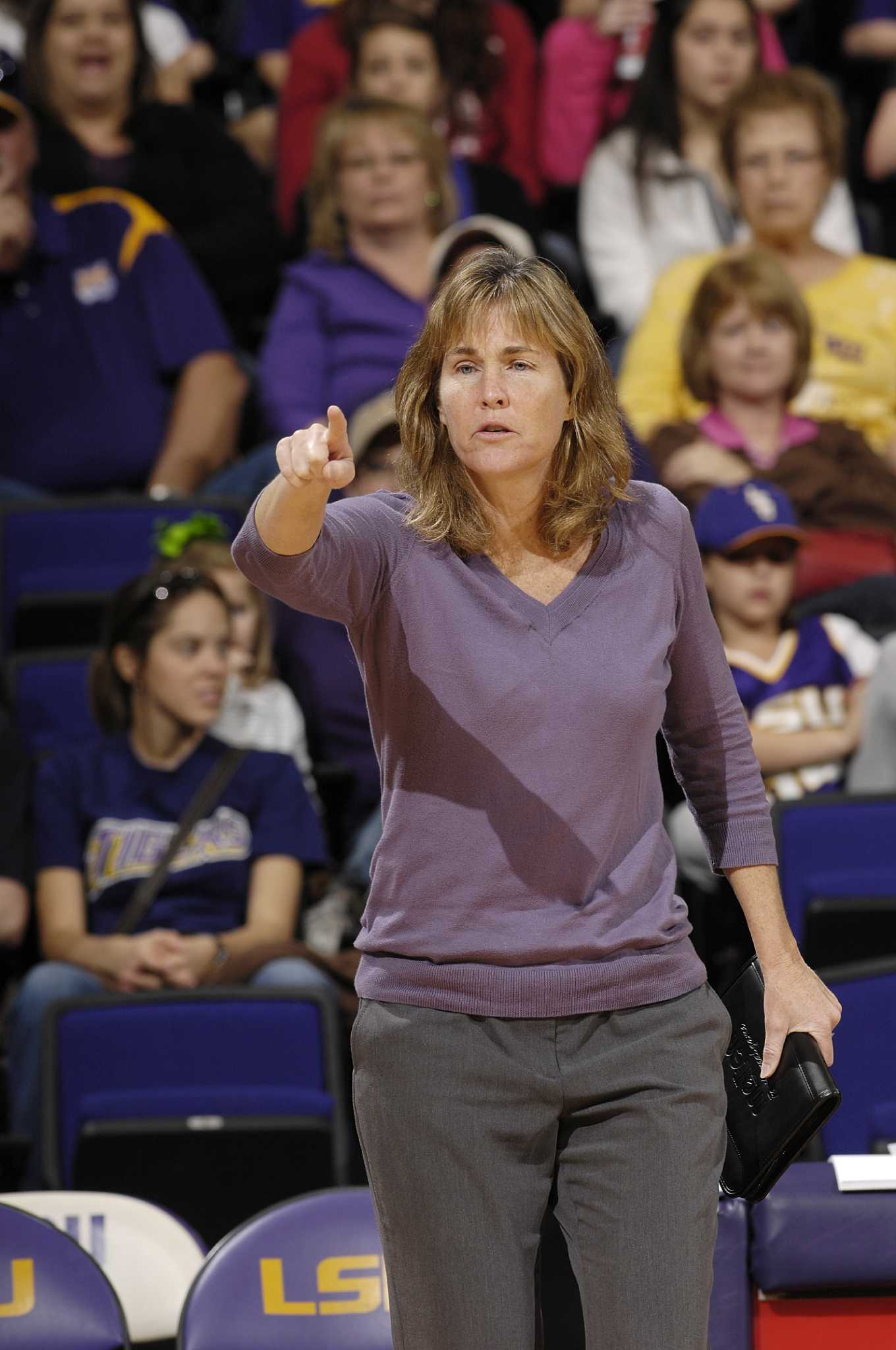 Volleyball Pardo Fits Right In At Lsu