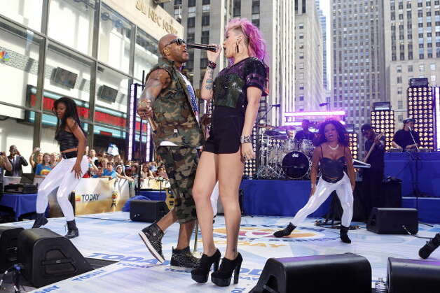 "2. ""Whistle,"" Flo Rida Photo: NBC NewsWire, NBCU Photo Bank Via Getty Images / 2012 NBCUniversal Media, LLC."