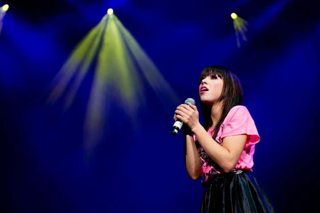 "4. ""Call Me Maybe,"" Carly Rae Jepsen Photo: Jeff Fusco, Getty Images / 2012 Jeff Fusco"