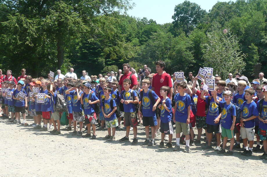 The Greenwich Council of the Boy Scouts of America celebrated its 100th birthday of scouting in the town of Greenwich on July 12, 2012 at the Ernest Thompson Seton Reservation on Riversville Road. Photo: Anne W. Semmes