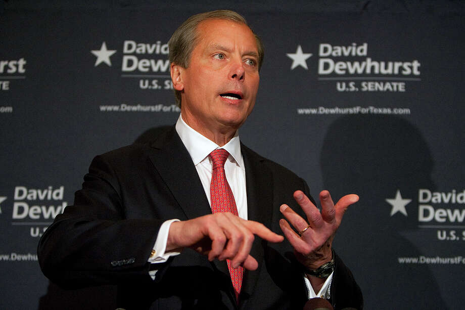 On the basis of his superior record, the Express-News Editorial Board is endorsing Lt. Gov. David Dewhurst in the Republican runoff election. Photo: AP