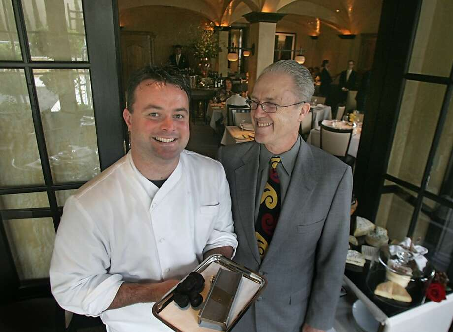 Douglas Keane and Nick Peyton. Photo: Liz Mangelsdorf, The Chronicle 2005