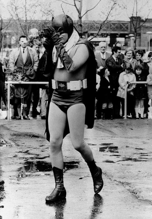 "BATMAN: Adam West, ""Batman: The Movie,"" 1966. / AP1967"