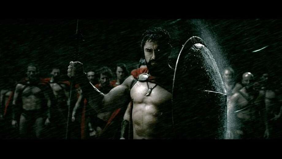 "Gerard Butler in ""300."" (HO / REUTERS)"