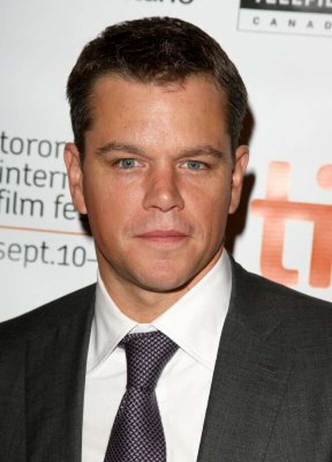 "Matt Damon wasn't in Jason Bourne shape for ""The Informant!"" He gained 30 pounds for the role. (Jason Merritt / Getty Images)"