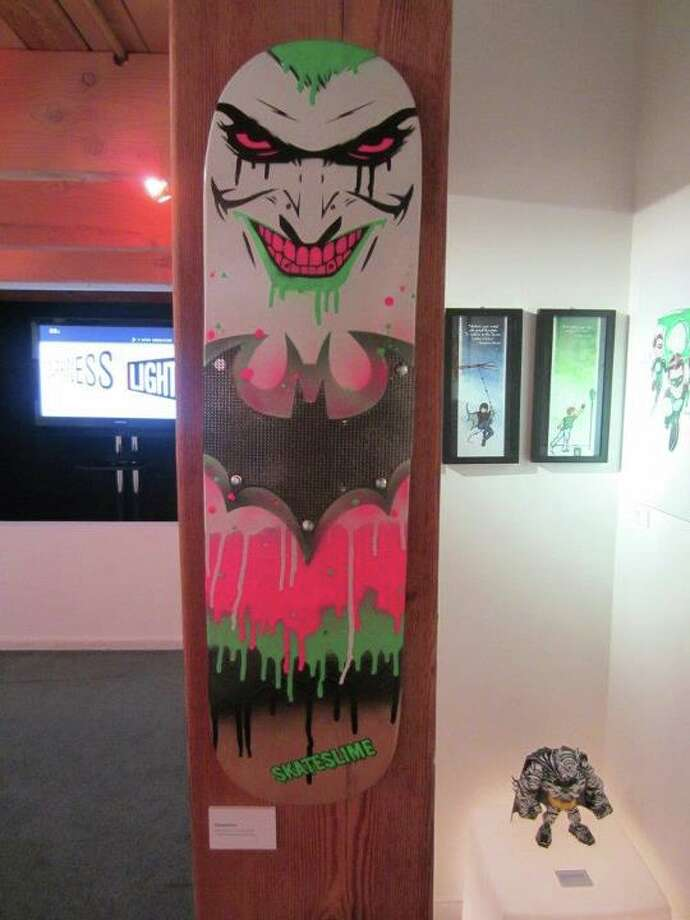 Fan-made skate deck at San Diego Comic Con. Photo: For The Chronicle