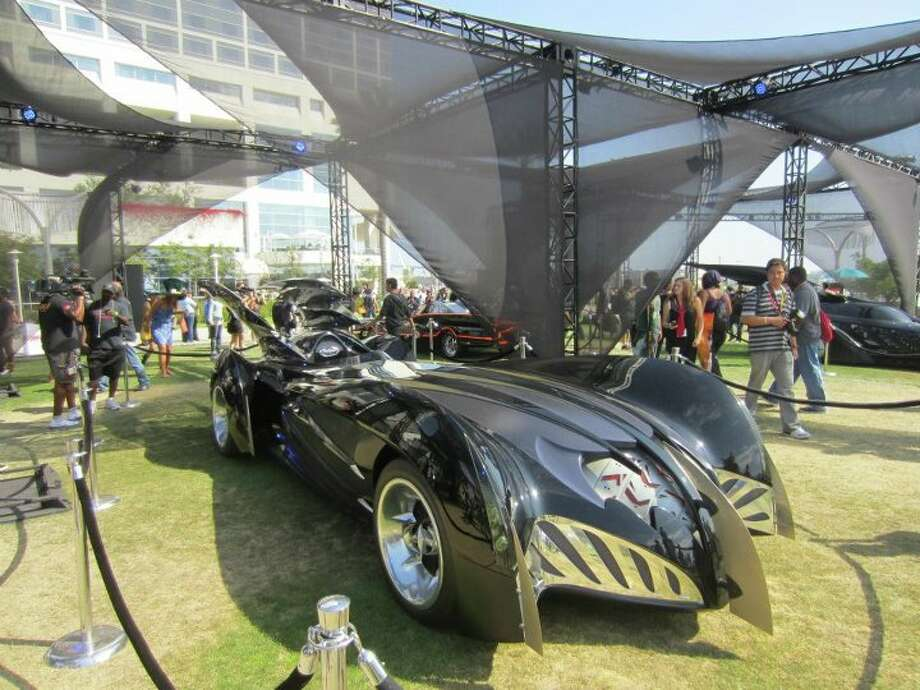 The Batmobile from the George Clooney film. Warner Brothers eventually would reboot the franchise after the unpopular Joel Schumacher films. Photo: For The Chronicle