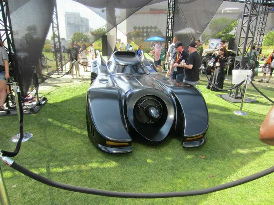 The Batmobile from Tim Burton's film is a favorite among fans.  Photo: For The Chronicle