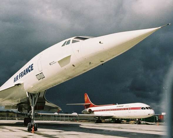 Concorde supersonic airliner Fox Charlie was the last Air France Concorde to fly. Its final flight was on June 27, 2003, from Paris to Toulouse-Blagnac airport. Photo: Aerospatiale/Aeroscopia