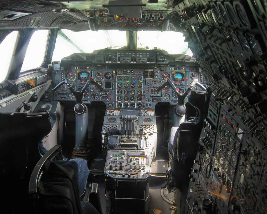 The flight deck of a former Air France Concorde is shown at the Aeroscopia site at Blagnac airport, France, on July 18, 2012. Photo: Aerospatiale/Aeroscopia