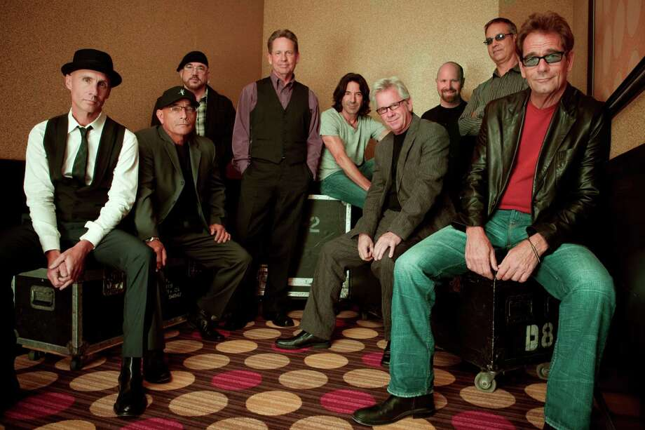 "Huey Lewis, far right, and members of the News will draw heavily from ""Soulsville"" when the band comes to town this weekend. Photo: SPA/Courtesy Huey Lewis"