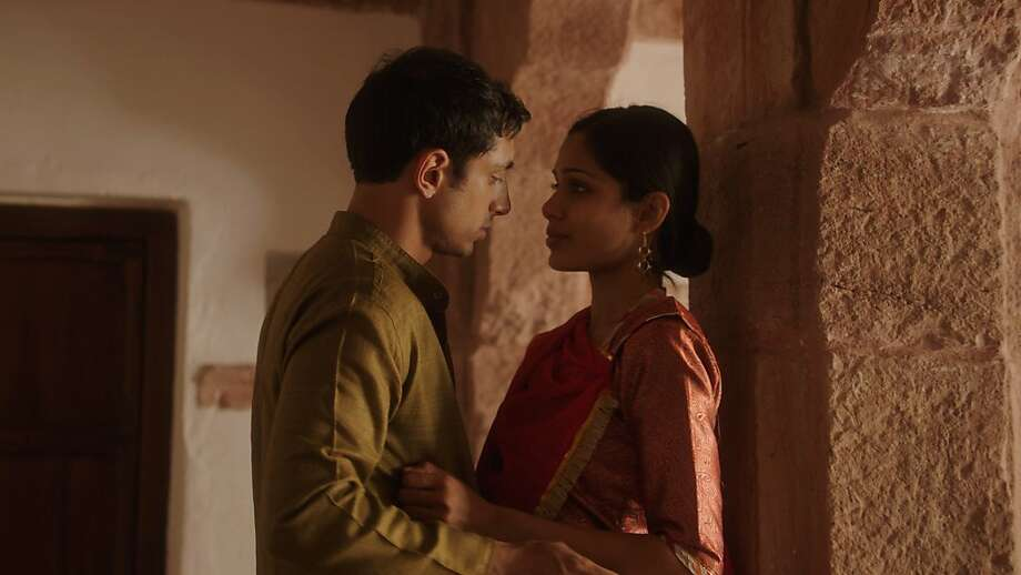 Freida Pinto as Trishna and Riz Ahmed as Jay in Michael WinterbottomÕs TRISHNA. Photo: Marcel Zyskind, Sundance Selects
