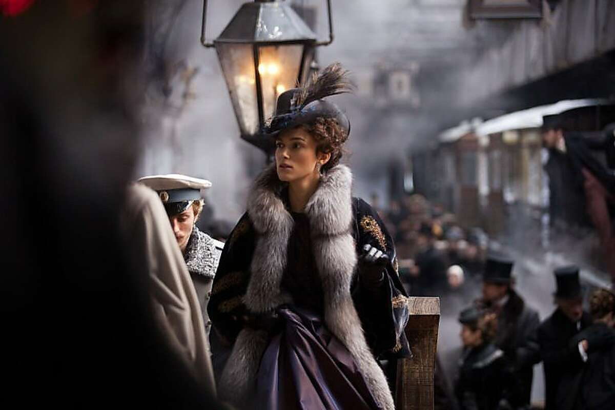 """Banana Republic offers an """"Anna Karenina""""-themed collection for holiday 2012, based on the novel by Russian author Leo Tolstoy."""