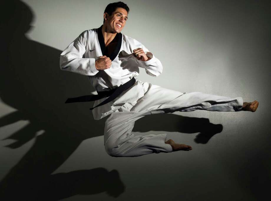 "Four-time Olympian Steven Lopez is called ""the Michael Jordan of taekwondo"" by his younger sister, Diana, but he remains relatively anonymous - which is fine by Lopez, who's focusing on more Olympic glory. Photo: Smiley N. Pool / ©   Houston Chronicle"