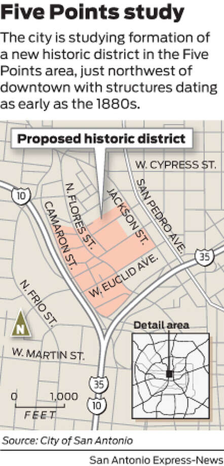 Five Points Could Become City S 28th Historic District