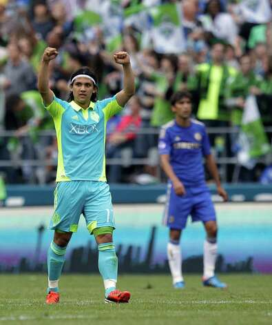 How about Sounders FC forward Fredy Montero? Photo: AP
