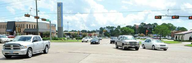 The intersection of Phelan and Dowlen will be closed starting Wednesday July 18, 2012 from the hours of 10 a.m. till 3p.m. till approximately  August 6, 2012 by the City of Beaumont.  Dave Ryan/The Enterprise Photo: Dave Ryan