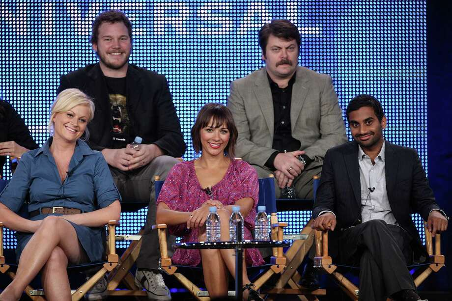 Snub: Perhaps the greatest outcry came from Parks and Recreation's snub in the outstanding comedy series category. What's it going to take for this show and its cast to get the recognition they deserve? The only consolation is Amy Poehler's much-deserved lead actress in a comedy nod. Photo: Frederick M. Brown, Getty Images / 2010 Getty Images