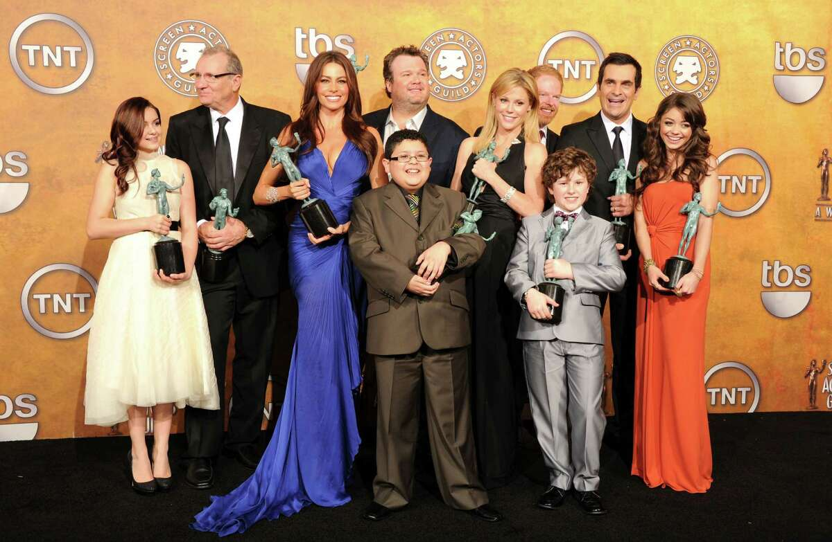 """Let's start with the least surprising fact of all - ABC's """"Modern Family"""" picked up 14 total nominations, including four out of the six nominations for best supporting actor in a comedy. At this point, shouldn't the show just have its own category? Read on for more surprises and snubs at the 2012 Emmy nominations."""
