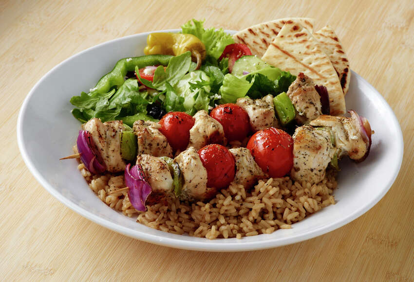 Zoës KitchenAddress: 999 E. Basse Road, Suite 125, 210-826-1134Why it's a pick: On the Broadway side of the Lincoln Heights shopping center, Zoës Kitchen features Mediterranean-inspired comfort food with some Southern twists. You'll find plenty of gluten-free and vegetarian options. Foods are prepared fresh daily, and there are no microwaves or fryers in the kitchen.Can't miss menu item: Chicken, cherry tomato, green pepper and onion kebab served with rice, salad and pita bread.