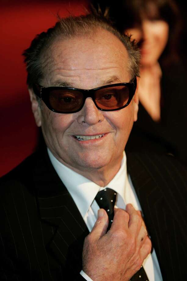 Jack Nicholson sans makeup but still scary. Photo: NATHAN STRANGE, AP / AP