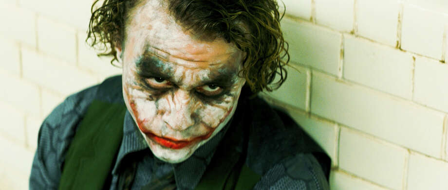 Heath Ledger as the Joker. Photo: Stephen Vaughan, Warner Bros. Pictures / handout email
