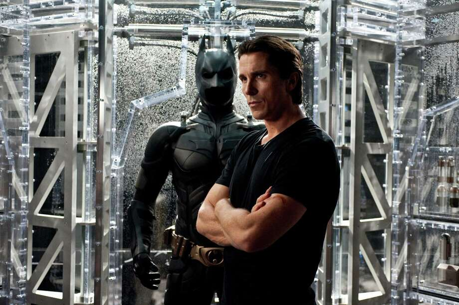 Christian Bale was chosen to wear the Batsuit in 2005's Batman Begins. Photo: Ron Phillips / © 2012 WARNER BROS. ENTERTAINMENT INC. AND LEGENDARY PICTURES FUNDING, LLC