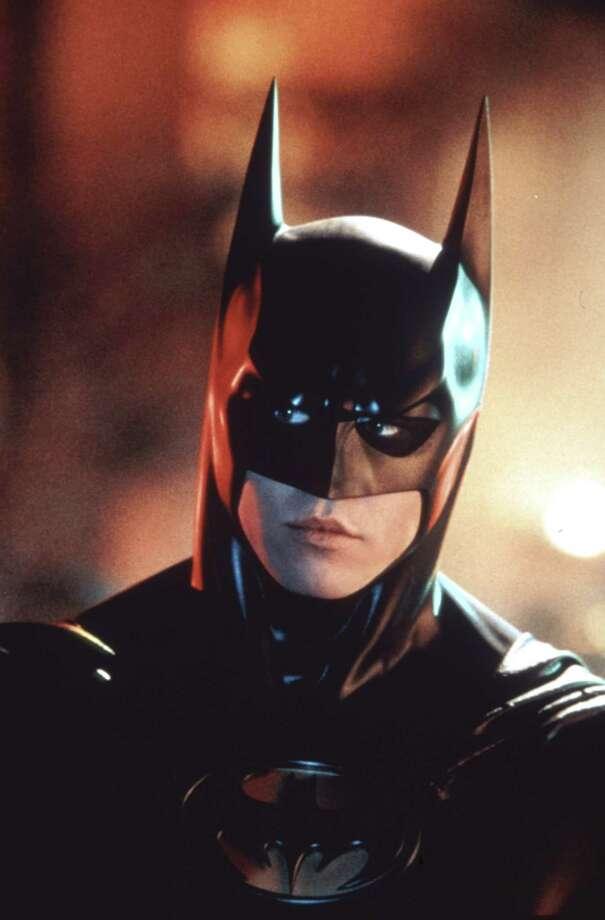 Val Kilmer donned the Batman costume in 1995's Batman Forever. Photo: DC Comics / handout slide
