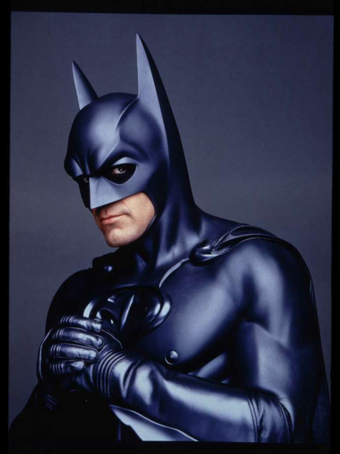George Clooney took on the superhero role in 1997's Batman & Robin. Photo: TMS & C97DC Comics / Warner Brothers