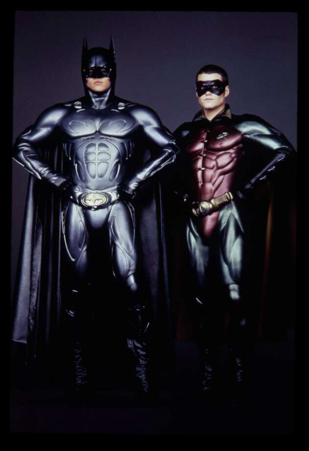 Also in 1995, Chris O'Donnell was introduced as Robin. Photo: TMS & C 95DC Comics / HANDOUT