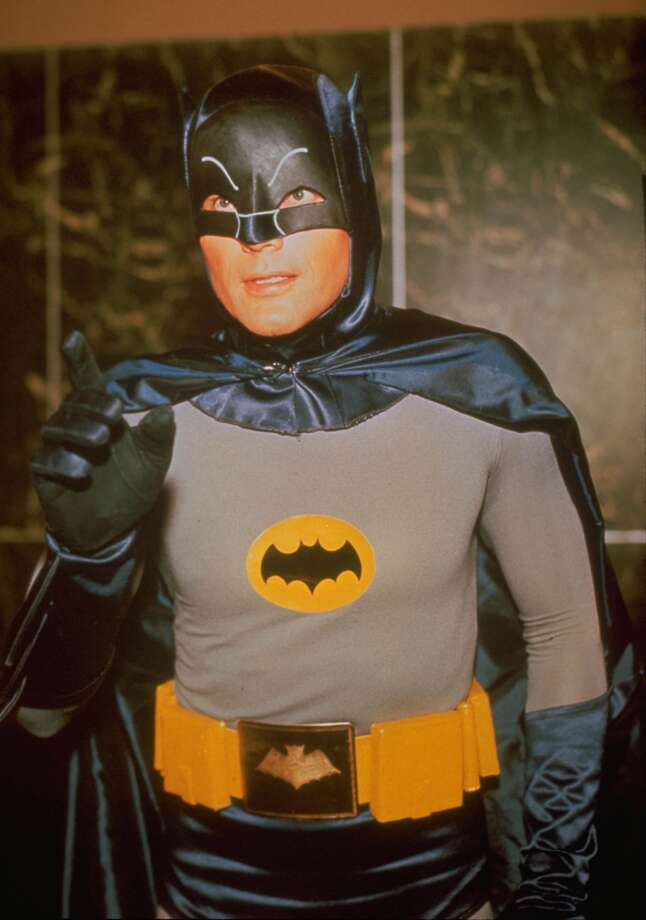 Adam West starred as Batman in the original 1960's television series. Photo: HANDOUT, KRT / KRT