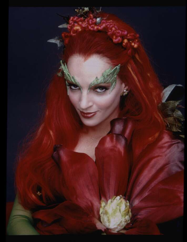 As was Uma Thurman's character Poison Ivy.