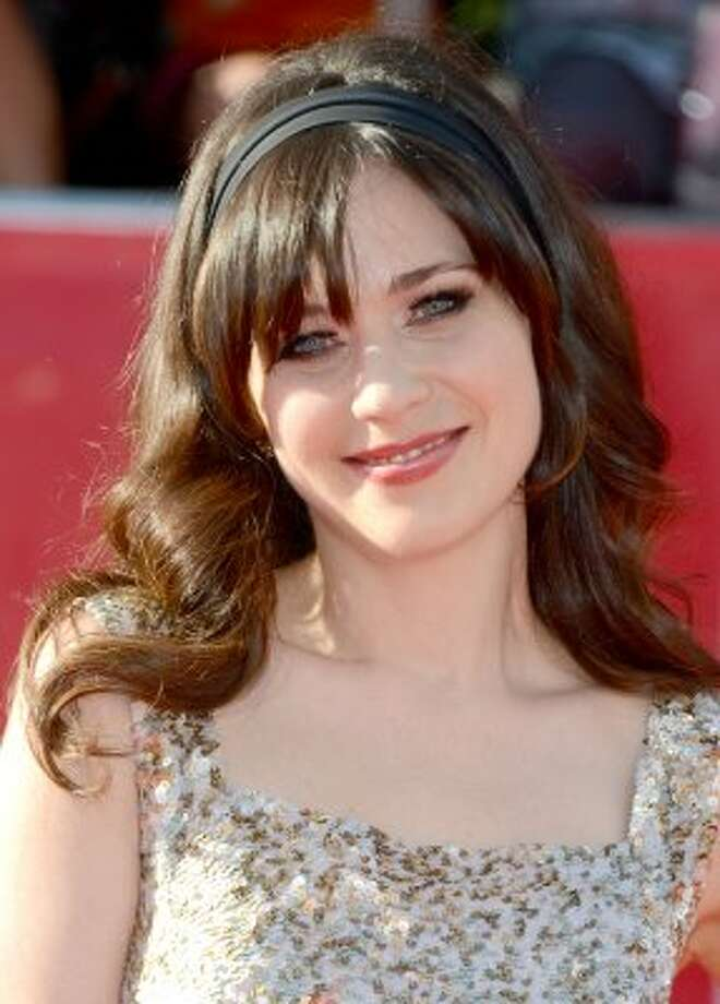 "8. ""New Girl"" actress Zooey Deschanel, $9 million. (Frazer Harrison / Getty Images)"