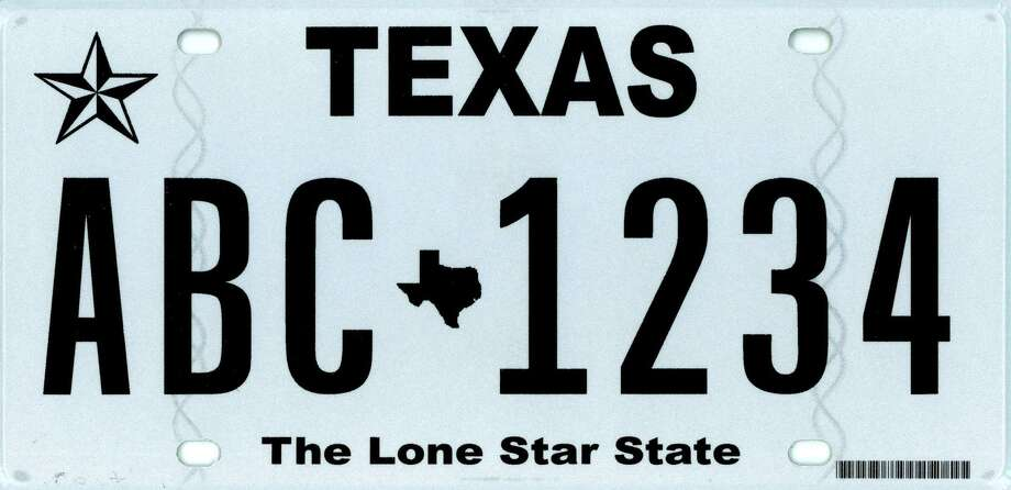 "These were the Top Ten vanity license plate designs chosen by Texans in 2013. Above:  Introduced in July 2012, ""The Texas Classic"" is designed to be easier to read. Photo: Texas Department Of Motor Vehicles"