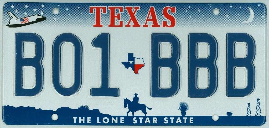 Texas department of motor vehicles license plates for Texas motor vehicle division