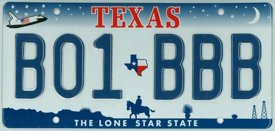 texas license plates through the years houston chronicle. Black Bedroom Furniture Sets. Home Design Ideas