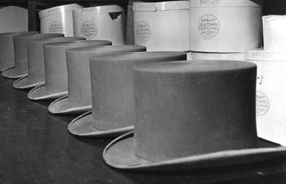 "It turns out ""mad hatter"" is more than the name of a weird rabbit. Hat makers had the disease named after them. Hats used to be made using the skin of animals, before synthetic fabrics were invented, and workers had to soak the animal fur in urine to soften it. But then, they switched to mercury, which regularly exposed workers to gas. It caused them to develop tremors, their teeth to fall out and other neurological problems. Hence the term, the mad hatter.Source: Cracked Photo: Topical Press Agency, Getty Images/Hulton Archive"