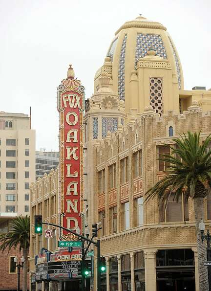 The Fox Theater is pictured on Monday, Oct. 3, 2011, in Oakland, Calif.