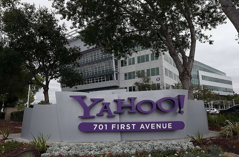 The Yahoo headqarters in Sunnyvale.  Yahoo went through extreme measures to keep secrect it was interviewing Google executive Marissa Mayer as the company's new CEO. Photo: Justin Sullivan, Getty Images