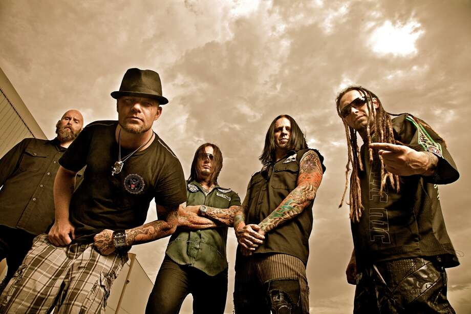 "Five Finger Death Punch is touring behind the CD ""American Capitalist."" Photo: Courtesy Five Finger Death Punch"