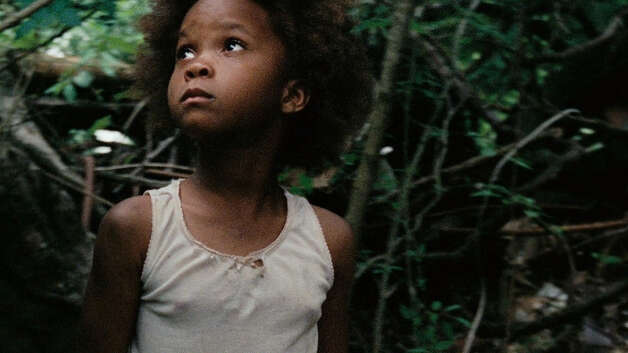 "Quvenzhane Wallis as ""Hushpuppy"" on the set of BEASTS OF THE SOUTHERN WILD. Photo Credit: Ben Richardson/Fox Searchlight"