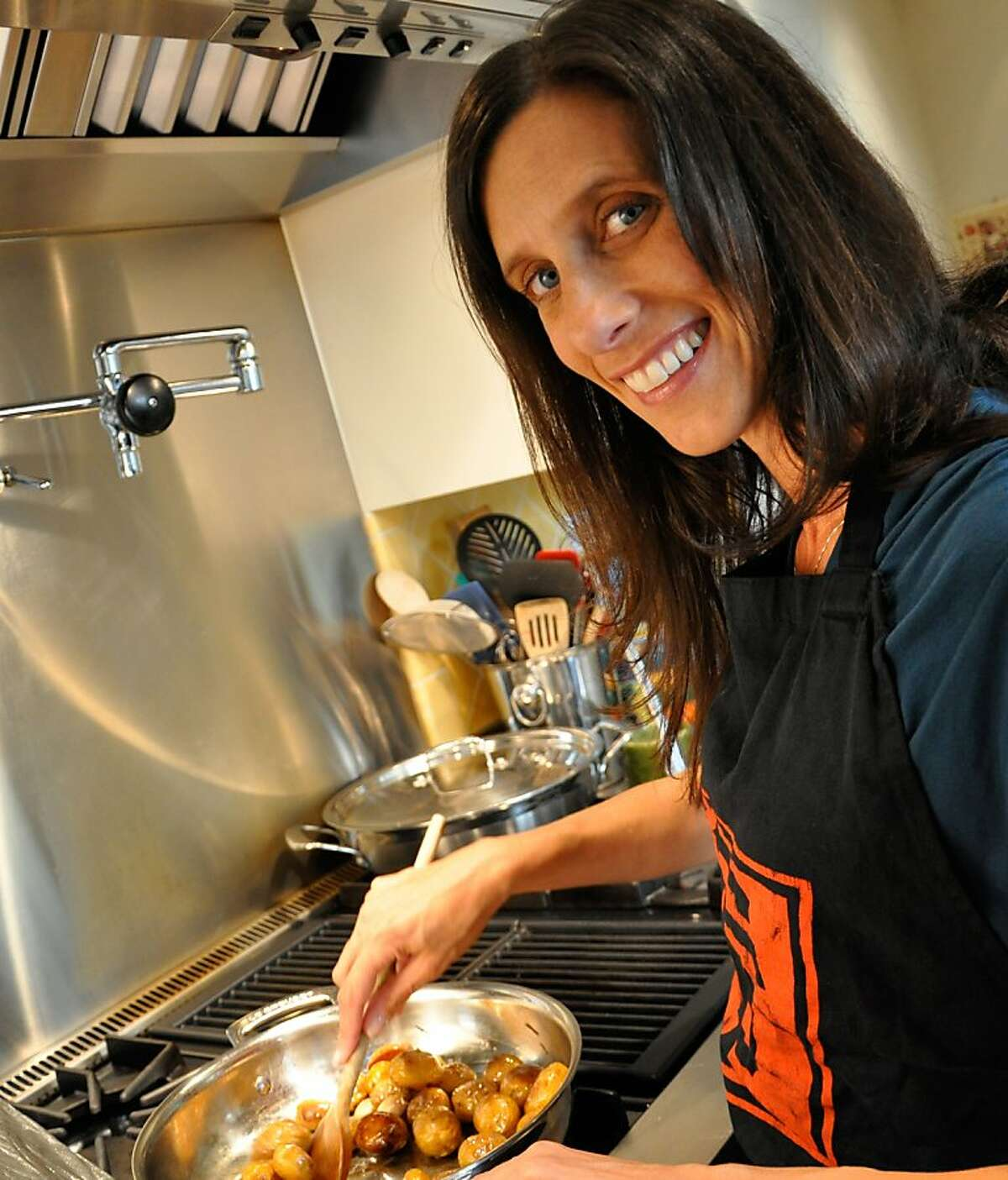 Jodi Liano, founder of San Francisco Cooking School, which will begin its first session on Jan. 3, 2013.
