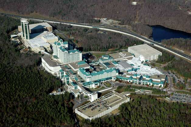 The  Foxwoods Resort Casino in Mashantucket, CT aerial photo by Morgan Kaolian AEROPIX Photo: Morgan Kaolian AEROPIX, ST / Morgan Kaolian AEROPIX